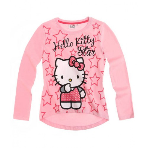 MAJICA HELLO KITTY (104, 116) ROZA