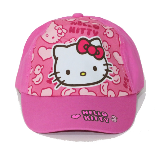 KAPA S ŠILTOM HELLO KITTY (ŠT. 54) ROZA