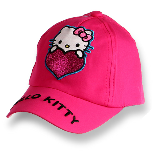 KAPA S ŠILTOM HELLO KITTY (52, 54) ROZA