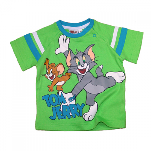 TOM & JERRY BABY MAJICA (68-92)-ZELENA