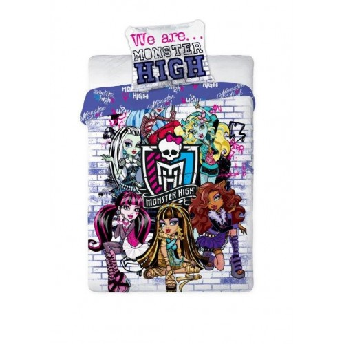POSTELJNINA MONSTER HIGH 160X200/70X80