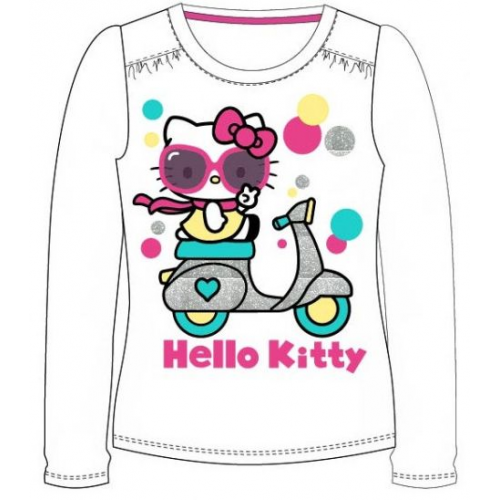 MAJICA HELLO KITTY (ŠT. 98-128) BELA
