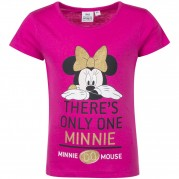 MAJICA MINNIE (98-128) ROZA