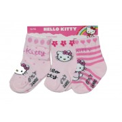 HELLO KITTY NOGAVICE 3/1 (16-18)-ROZA