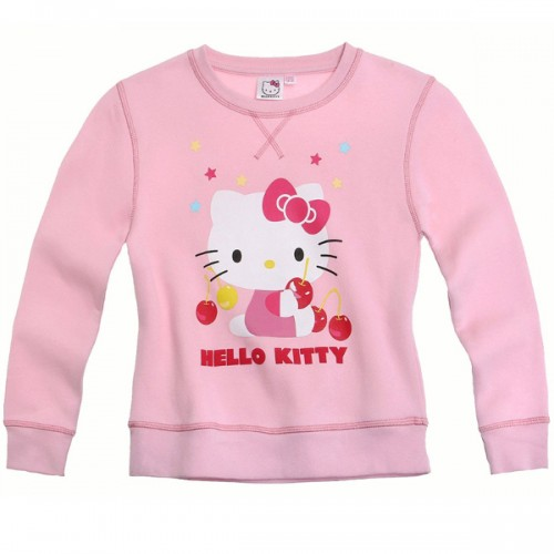 PULOVER HELLO KITTY (104-128) ROZA