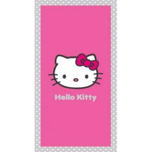 BRISAČA HELLO KITTY 75X150