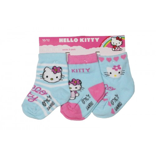 HELLO KITTY NOGAVICE 3/1 (10-18)-MODRA