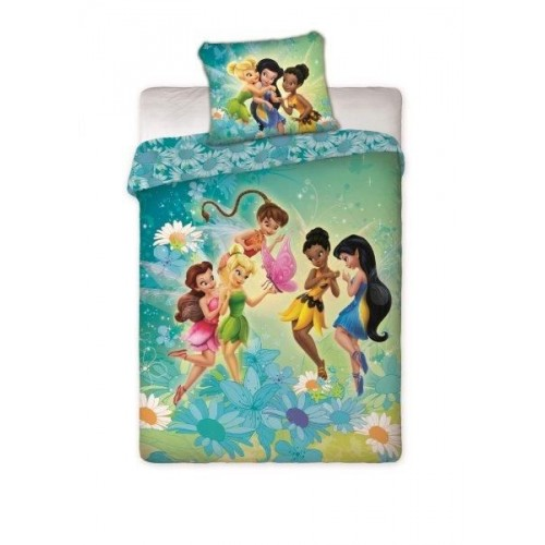 POSTELJNINA DISNEY FAIRIES 160X200/70X80
