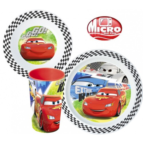 MICRO JEDILNI SET CARS