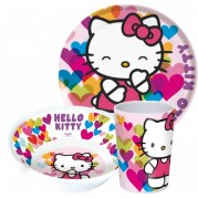 JEDILNI SET HELLO KITTY