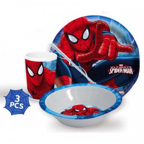 JEDILNI SET SPIDERMAN